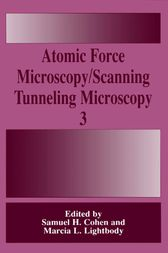 Atomic Force Microscopy/Scanning Tunneling Microscopy 3 by Samuel H. Cohen
