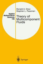 Theory of Multicomponent Fluids by Donald A. Drew