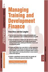 Managing Training and Development Finance by Fiona Green