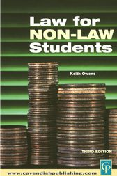 Law for Non-Law Students by Keith Owens