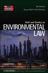 Wolf and Stanley on Environmental Law 4/e by Susan Wolf