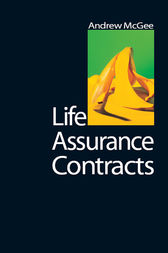Life Assurance Contracts by Andrew McGee