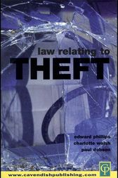 Law Relating To Theft by C. Walsh