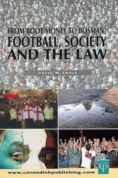 Football Society & The Law by David Mcardle