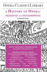 A History of Opera: Milestones and Metamorphoses by Burton D. Fisher