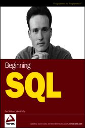 Beginning SQL by Paul Wilton