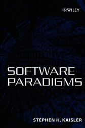 Software Paradigms by Stephen H. Kaisler