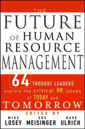 The Future of Human Resource Management by Mike Losey