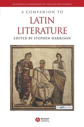 A Companion to Latin Literature by Stephen Harrison