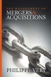The Management of Mergers and Acquisitions by Philippe Very