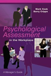 Psychological Assessment in the Workplace by Mark Cook