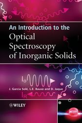 An Introduction to the Optical Spectroscopy of Inorganic Solids by Jose Solé
