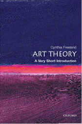 Art Theory: A Very Short Introduction by Cynthia Freeland
