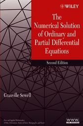 The Numerical Solution of Ordinary and Partial Differential Equations by Granville Sewell