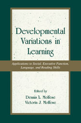 Developmental Variations in Learning by Victoria J. Molfese