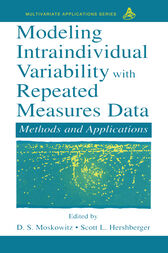 Modeling Intraindividual Variability With Repeated Measures Data by Scott L. Hershberger