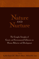 Nature and Nurture by Cynthia Garcia Coll
