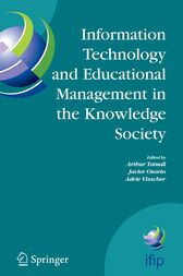 Information Technology and Educational Management in the Knowledge Society by Arthur Tatnall