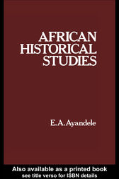 African Historical Studies by E. A. Ayandele