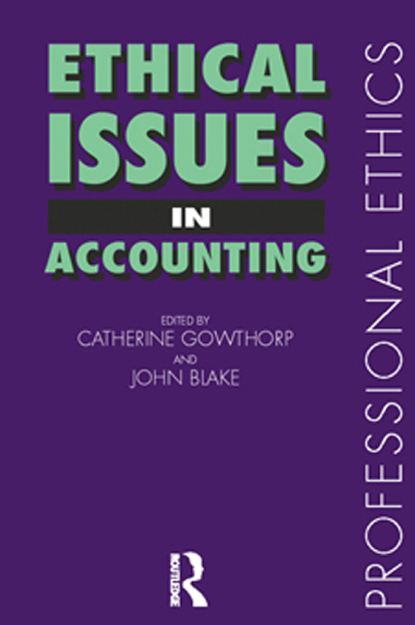 Download Ebook Ethical Issues in Accounting by John Blake Pdf