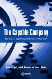 The Capable Company by Richard L. Lynch