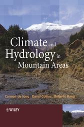 Climate and Hydrology of Mountain Areas by Carmen de Jong