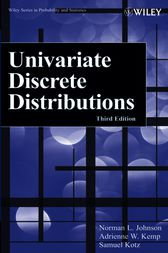 Univariate Discrete Distributions by Norman L. Johnson