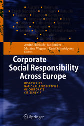 Corporate Social Responsibility Across Europe by André Habisch