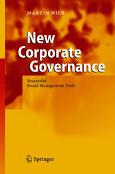 New Corporate Governance by Martin Hilb