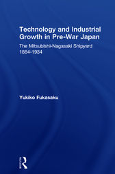 Technology and Industrial Growth in Pre-War Japan by Yukiko Fukasaku