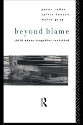 Beyond Blame by Dr Peter Reder