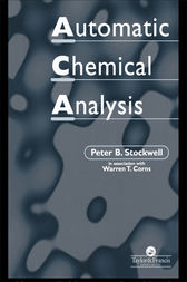 Automatic Chemical Analysis by Peter B. Stockwell