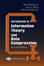 Introduction to Information Theory and Data Compression, Second Edition by Jr. Johnson