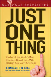 Just One Thing by John Mauldin