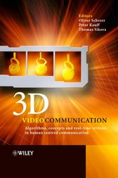 3D Videocommunication by Oliver Schreer