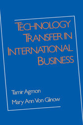 Technology Transfer in International Business by Tamir Agmon