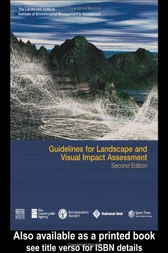 Guidelines for Landscape and Visual Impact Assessment by Landscape Institute