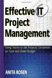 Effective IT Project Management by Anita Rosen