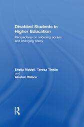 Disabled Students in Higher Education by Sheila Riddell