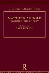 Matthew Arnold by Carl Dawson