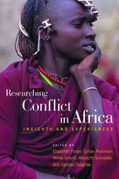 Researching Conflict in Africa by Elisabeth Porter