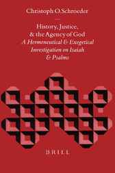 History, justice, and the agency of God by O. Schroeder