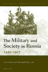 The military and society in Russia by E. Lohr
