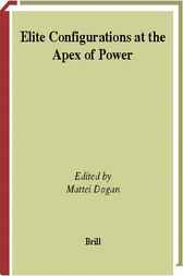 Elite configurations at the apex of power by M. Dogan