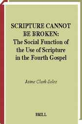 Scripture cannot be broken by J. Clark-Soles
