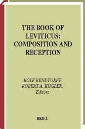 The book of Leviticus by R. Rendtorff