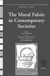 The moral fabric in contemporary societies by G. Skapska