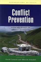 Conflict Prevention by David Carment