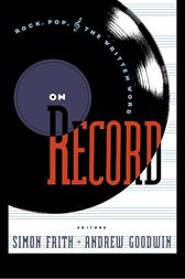 On Record by Simon Frith