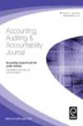 Accounting Research And The Public Interest by Dean Neu; Cameron Graham